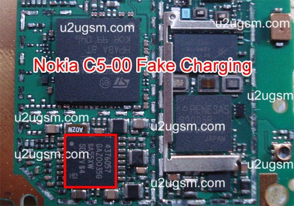 ... replace them to solve fake charging problem in the Nokia Mobile phone