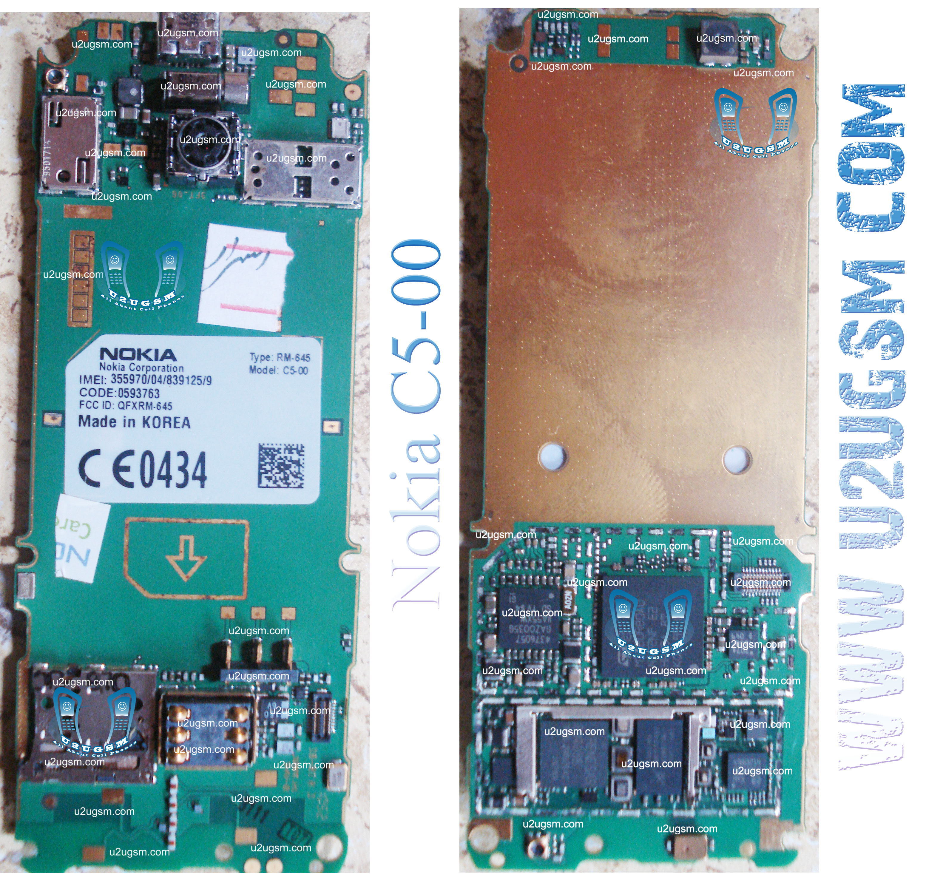 nokia c5 full pcb diagram mother board layout rh u2ugsm com Nokia 5 Nokia C6