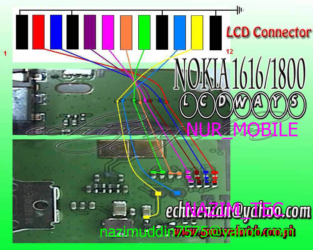 Nokia 110 Light Problem Solution With Jumpers
