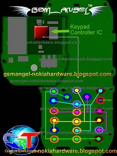 Nokia 1280 Keypad Ic Jumper Solution