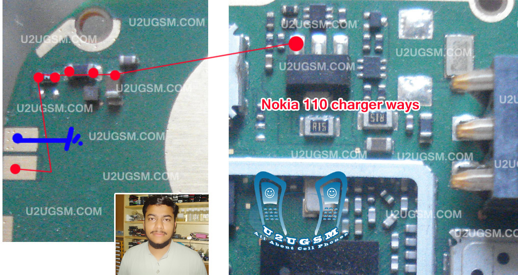 Nokia 110 Charging Solution