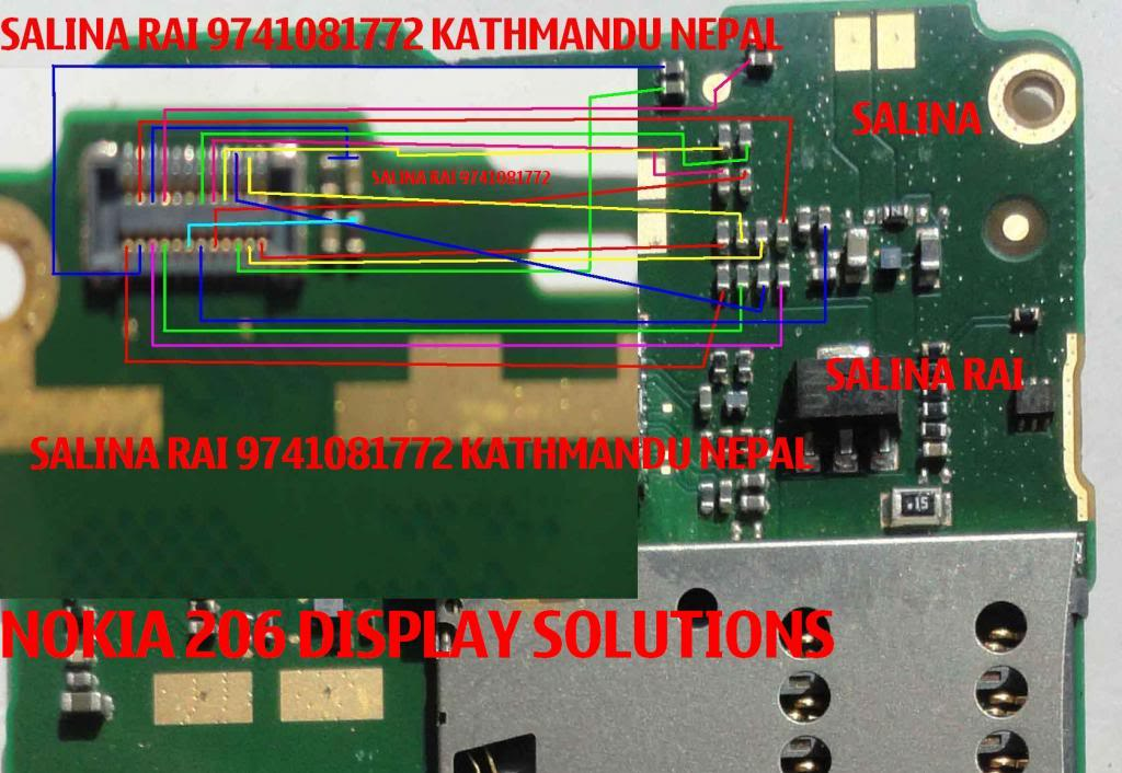 Nokia Asha 206 Lcd Display Problem Solution With Jumpers