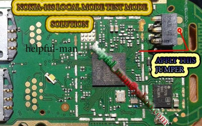Nokia 108 Local Mode Test Mode Solution 100  Tested