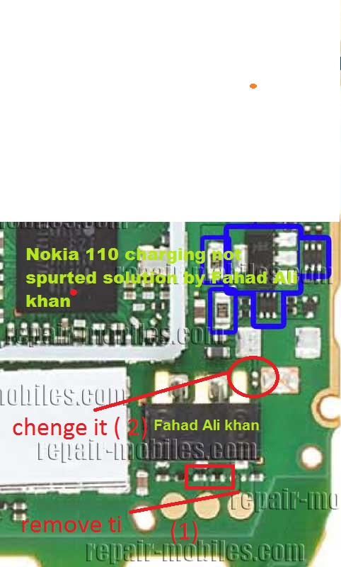 Nokia 110 Charging Not Supported Problem b