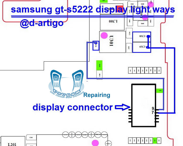 Star 3 Duos S5222 LCD Display Light IC Solution Jumper Problem Ways