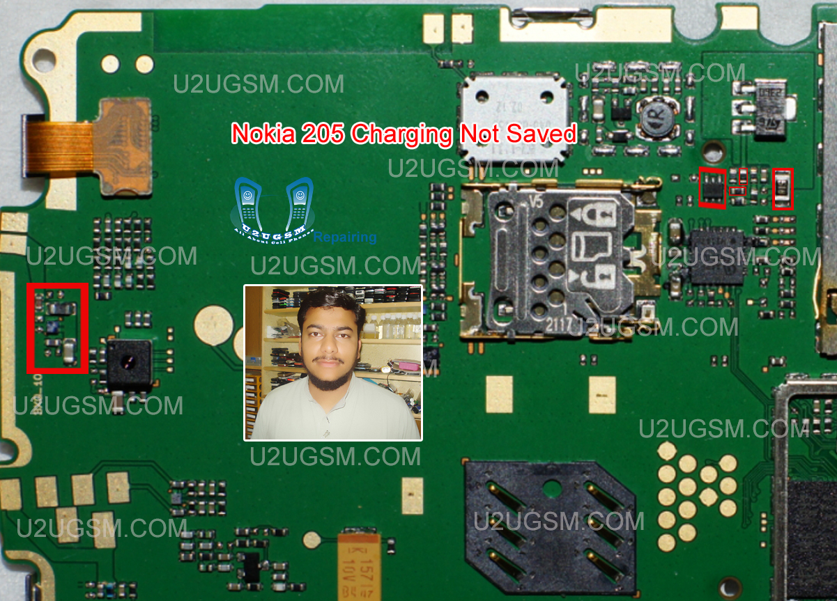 Samsung young 2 sm g130h power on off key jumper track ways - Nokia 205 Not Charging Saving Problem Solution