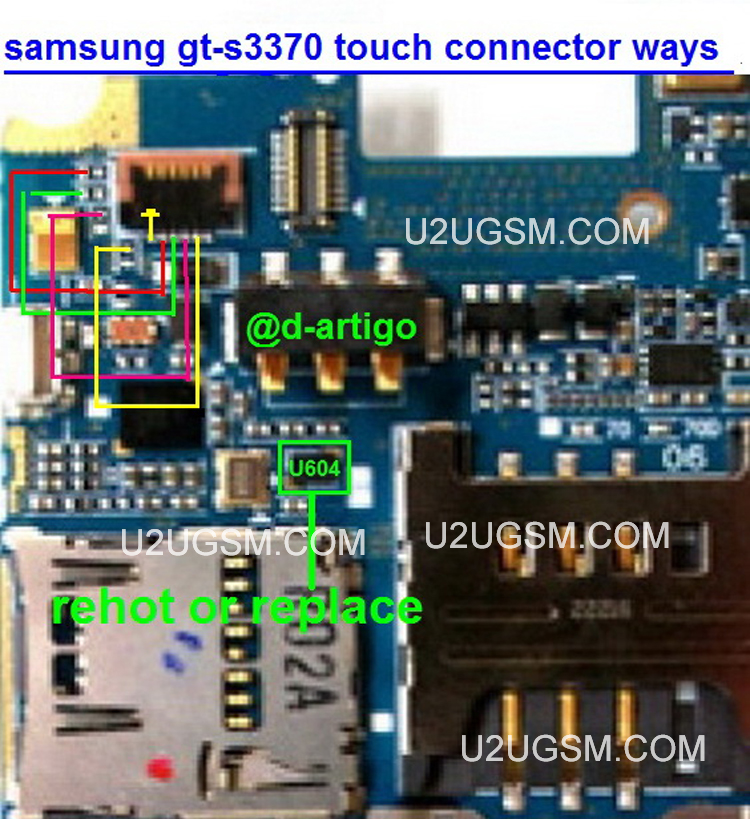Samsung S3370 Touch screen Not Working Problem Solution