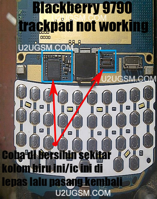Blackberry 9790 Keypad Not Working Solutions