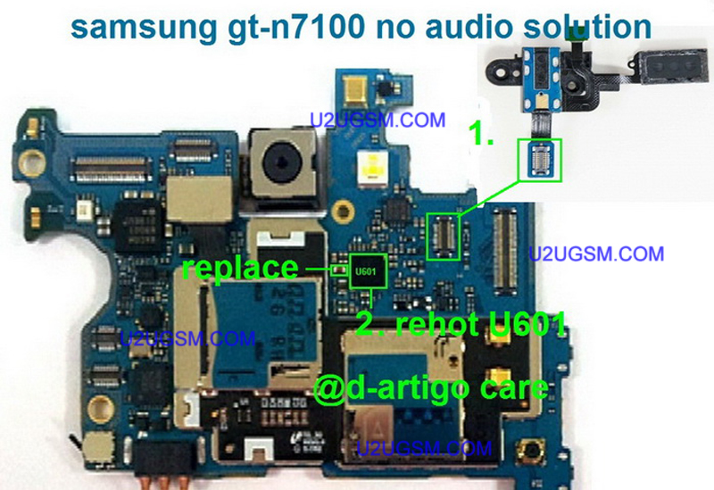 Samsung Galaxy Note Ii N7100 Speaker Solution Jumper Problem Ways Earpeace