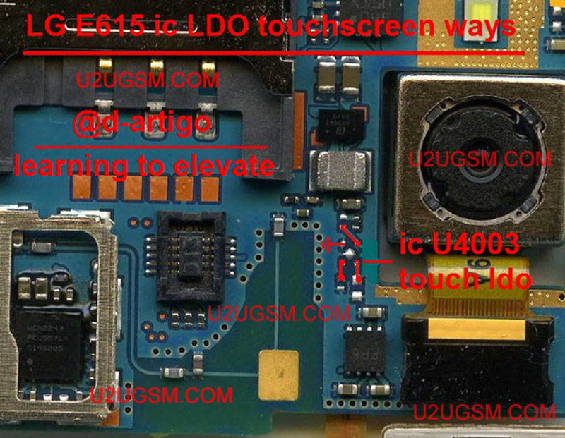 Lg E615 Touch Screen Ic Jumpers Problem Solution Ways