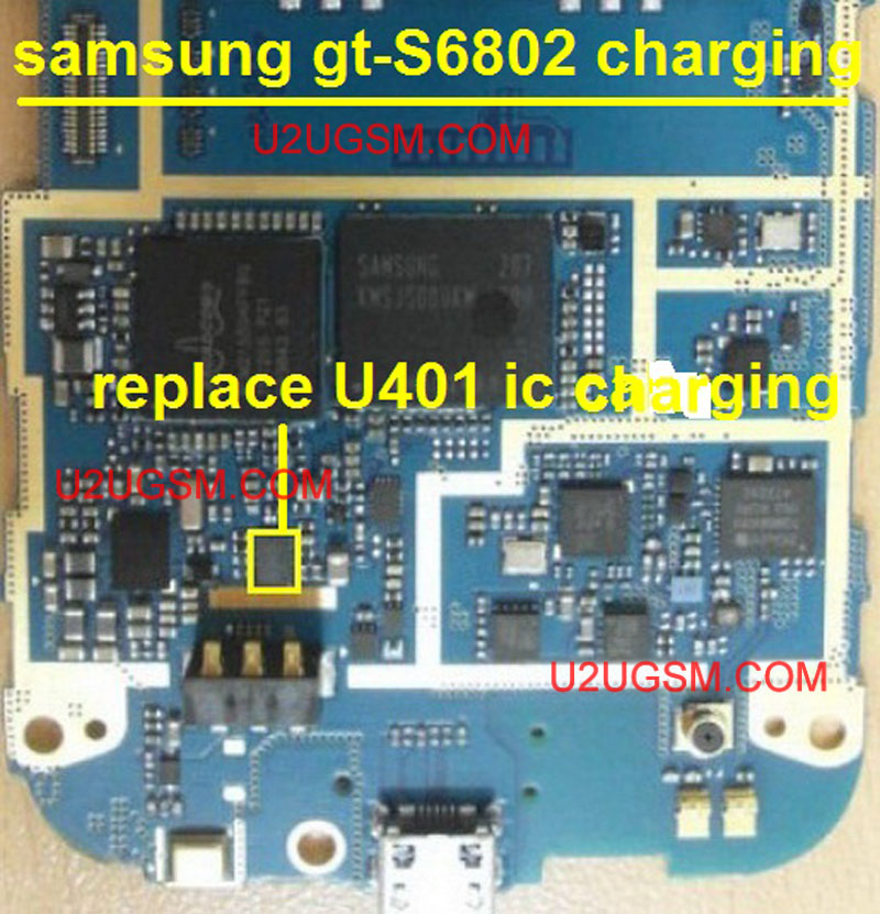 Samsung Galaxy Ace Duos S6802 Charging Solution Jumper