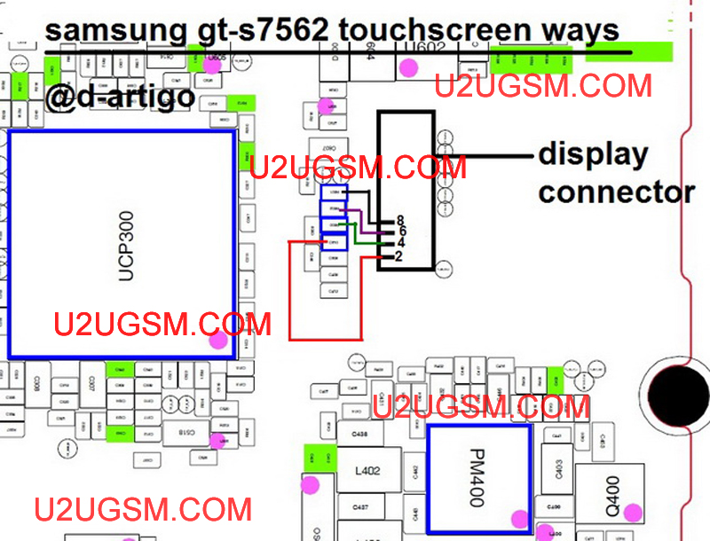 Samsung Galaxy S Duos S7562 Touch Screen Not Working Problem Solution Jumper Ways U2ugsm In