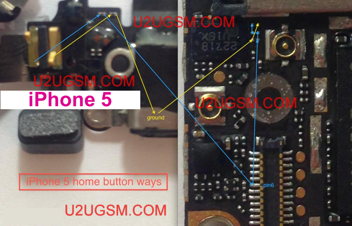 Iphone  Home Button Not Working Solution
