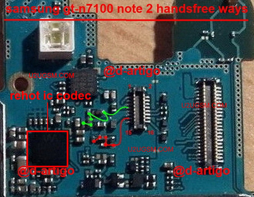 Samsung Galaxy Note II N7100 Handsfree Solution Jumper Problem Ways