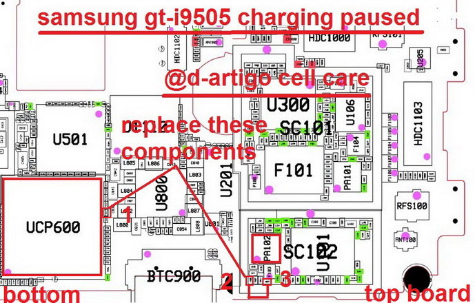 Samsung I9505 Galaxy S4 Charging Solution Jumper Problem Ways Charging Not Supported (1)