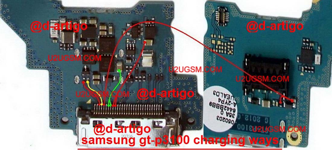 Samsung Galaxy Tab 2 70 P3100 Usb Charging Problem