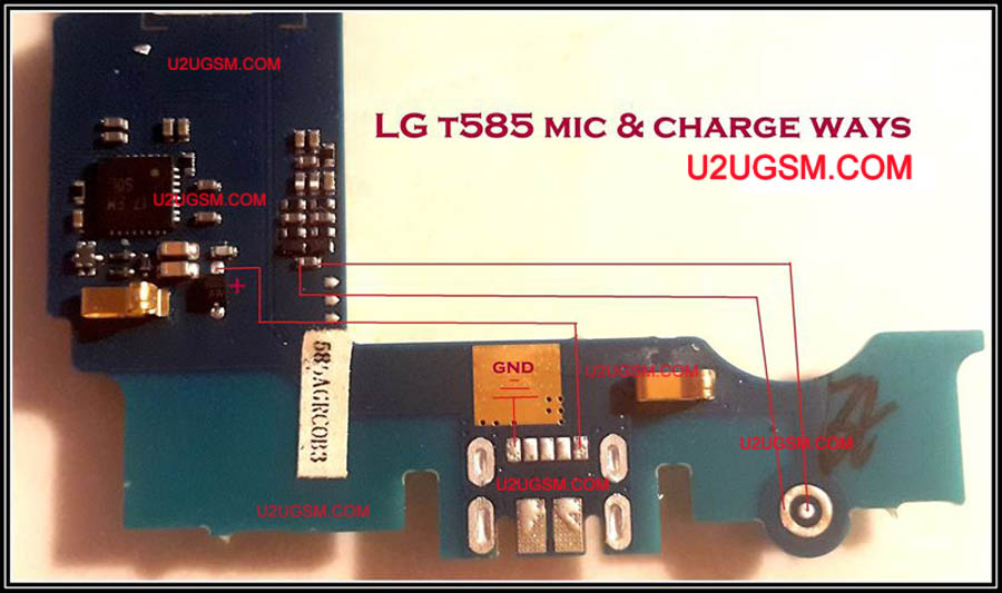 LG T585 Charging Solution Jumper Problem Ways Charging Not Supported