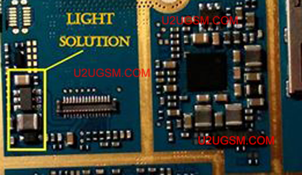 Samsung Galaxy S Duos S7562 Lcd Display Light Ic Solution Jumper Problem Ways U2ugsm In