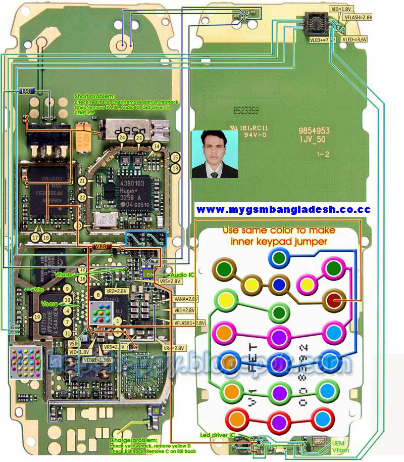 nokia 1600 all lay outnokia 1600 diagram all board links whole board rh u2ugsm in Circuit Design IC Circuit Schematics