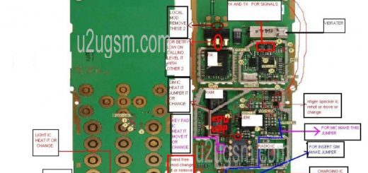 Samsung S7582 Full Pcb Diagram Mother Board Layout