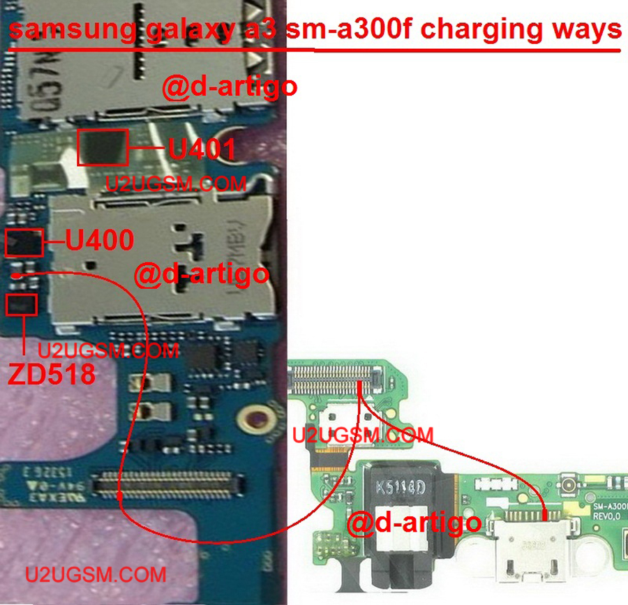 Samsung Galaxy A3 Charging Solution Jumper Problem Ways Charging Not Supported