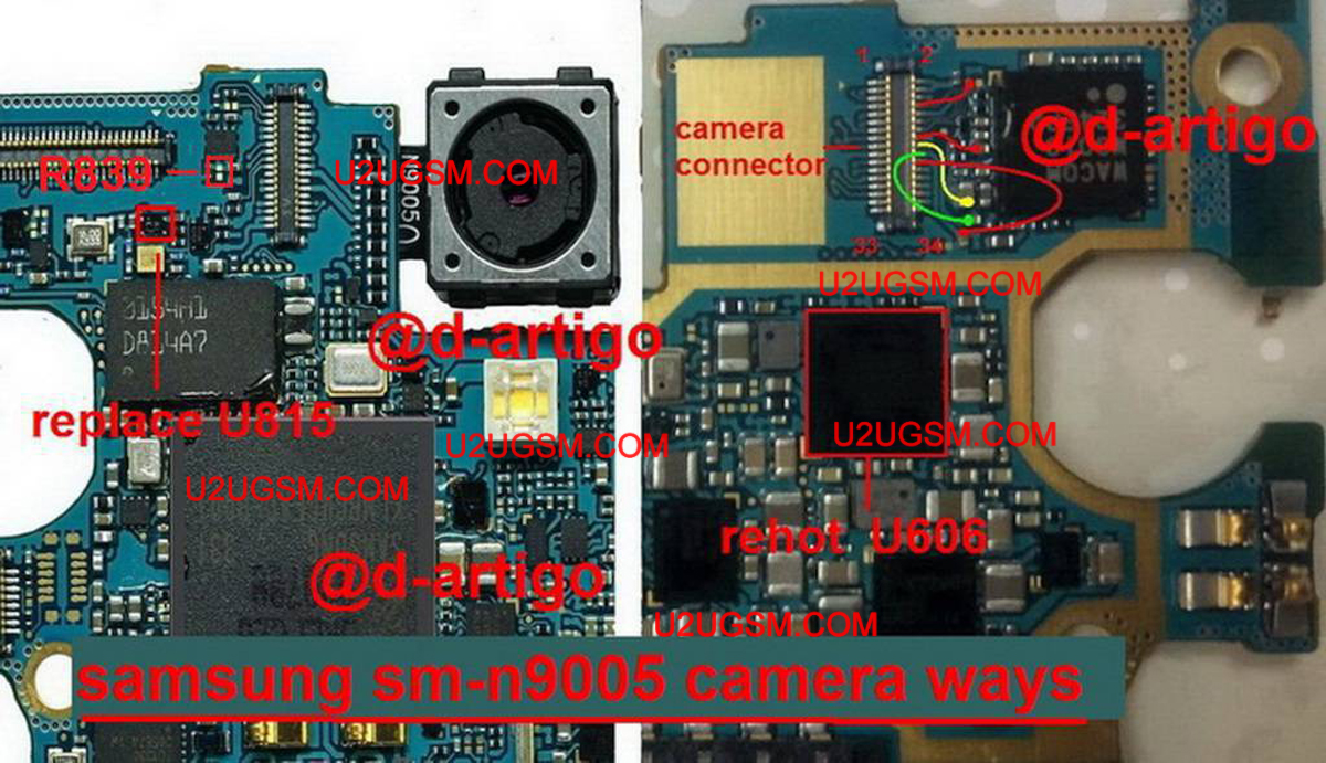 Samsung Galaxy Note 3 n9005 Camera not Working Problem Solution
