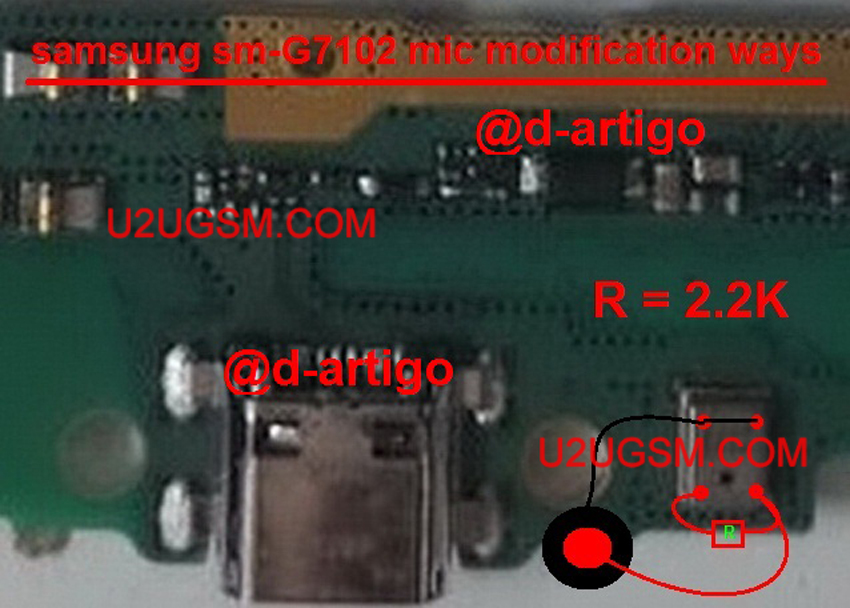 Samsung Galaxy Grand 2 Mic Modification Solution Jumper Problem Ways