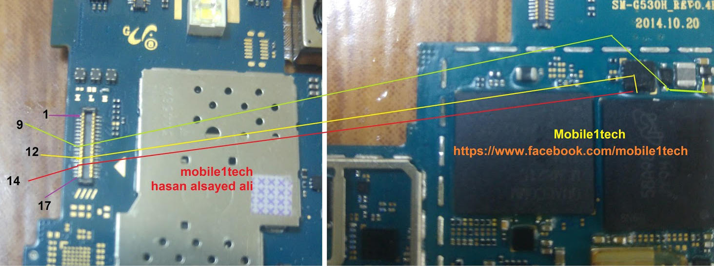 Samsung Galaxy Grand Prime LCD Display Light IC Solution