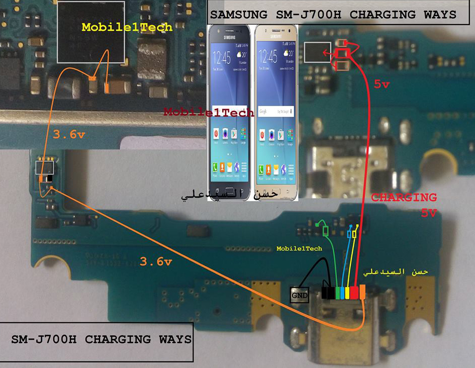 tablet usb circuit schematic usb pinouts