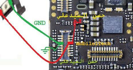 iPhone 5S Power On Off Key Button Switch Jumper Ways