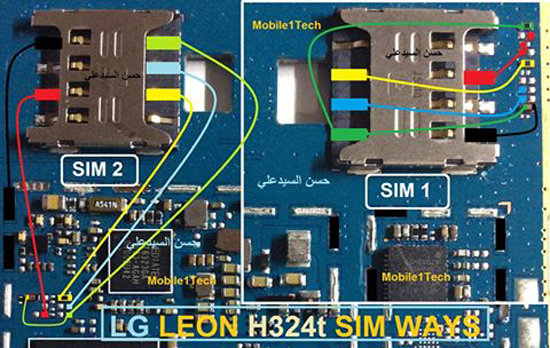 LG Leon H324 Insert Sim IC Solution Jumper Problem Ways