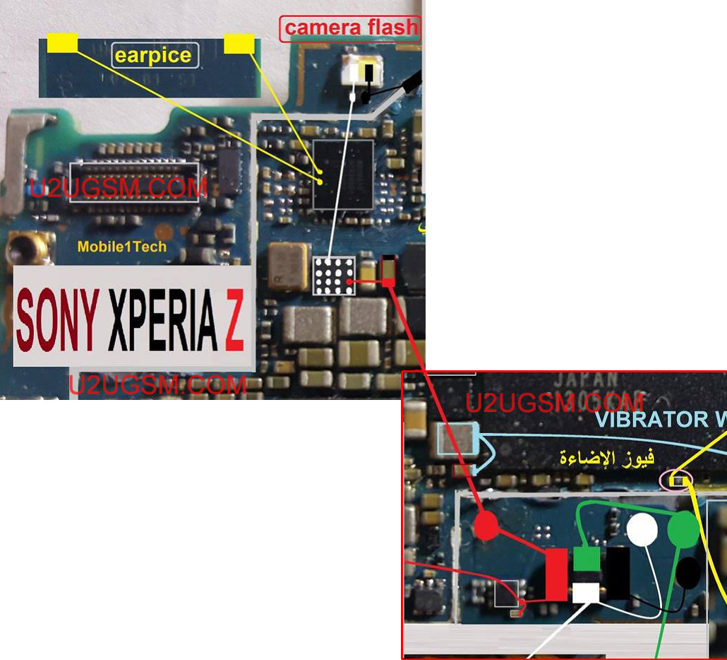 Sony Xperia Z C6603 Charging Solution Jumper Problem Ways Is Circuit Diagram