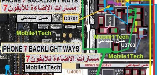 iPhone 7 LCD Display Light IC Solution Jumper Problem Ways