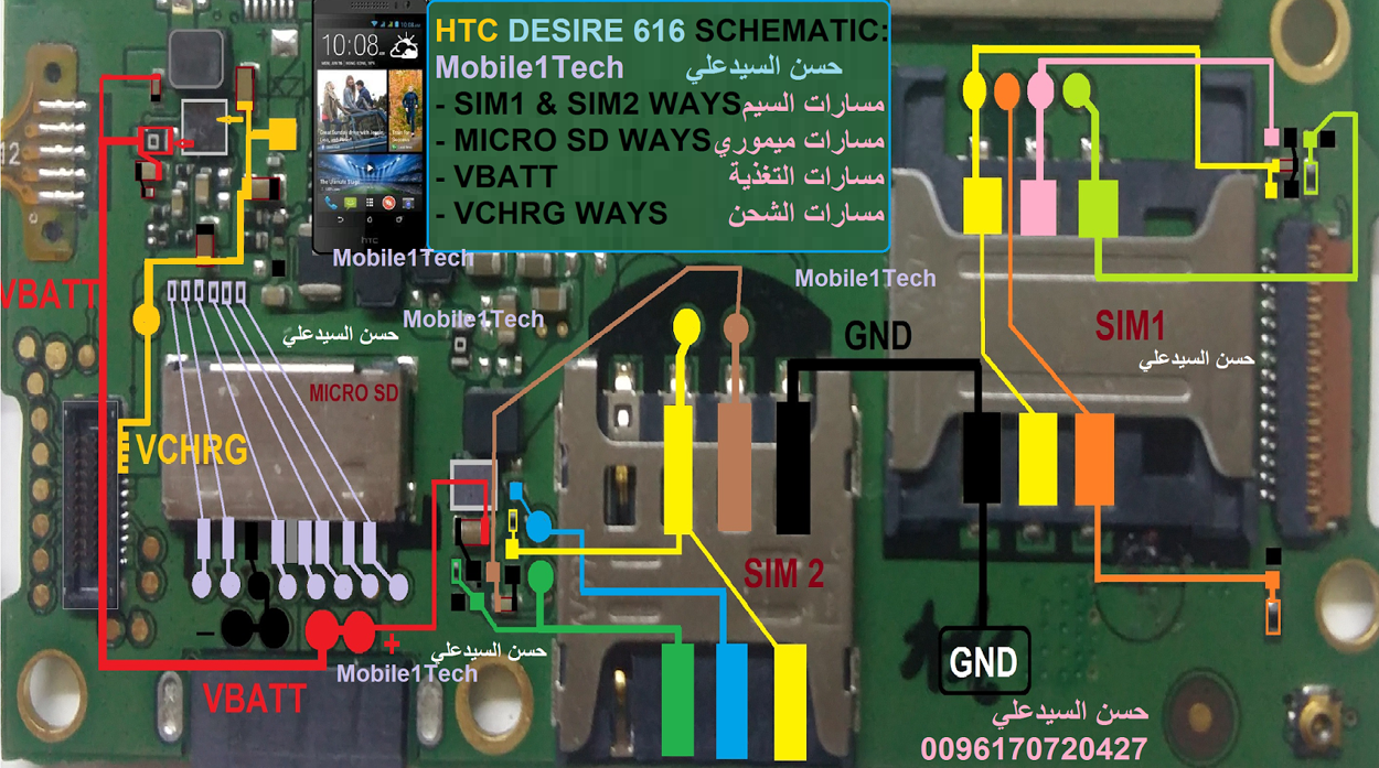 HTC Desire 616 Memory Card Not Working Problem