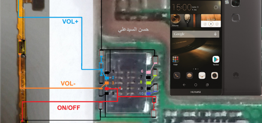 Huawei Ascend Mate 7 Power On Off Key Button Switch Jumper Ways