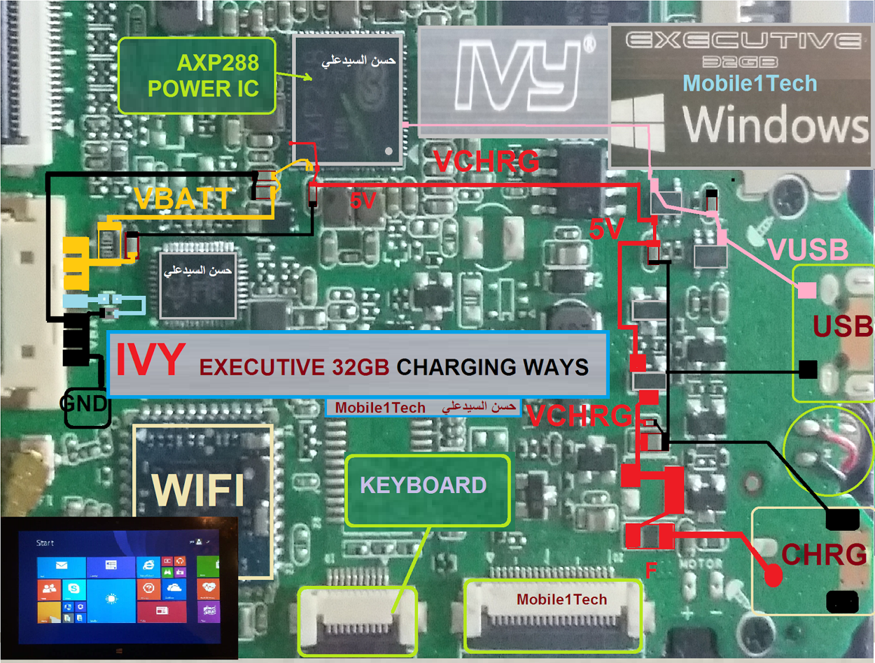 IVY Executive Tablet Charging Problem Solution Jumper Ways