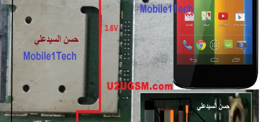 Motorola Moto G XT1032 Charging Solution Jumper Problem Ways Charging Not Supported