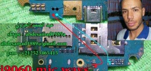 Samsung Galaxy Grand Neo I9060 Mic Solution Jumper Problem Ways Microphone