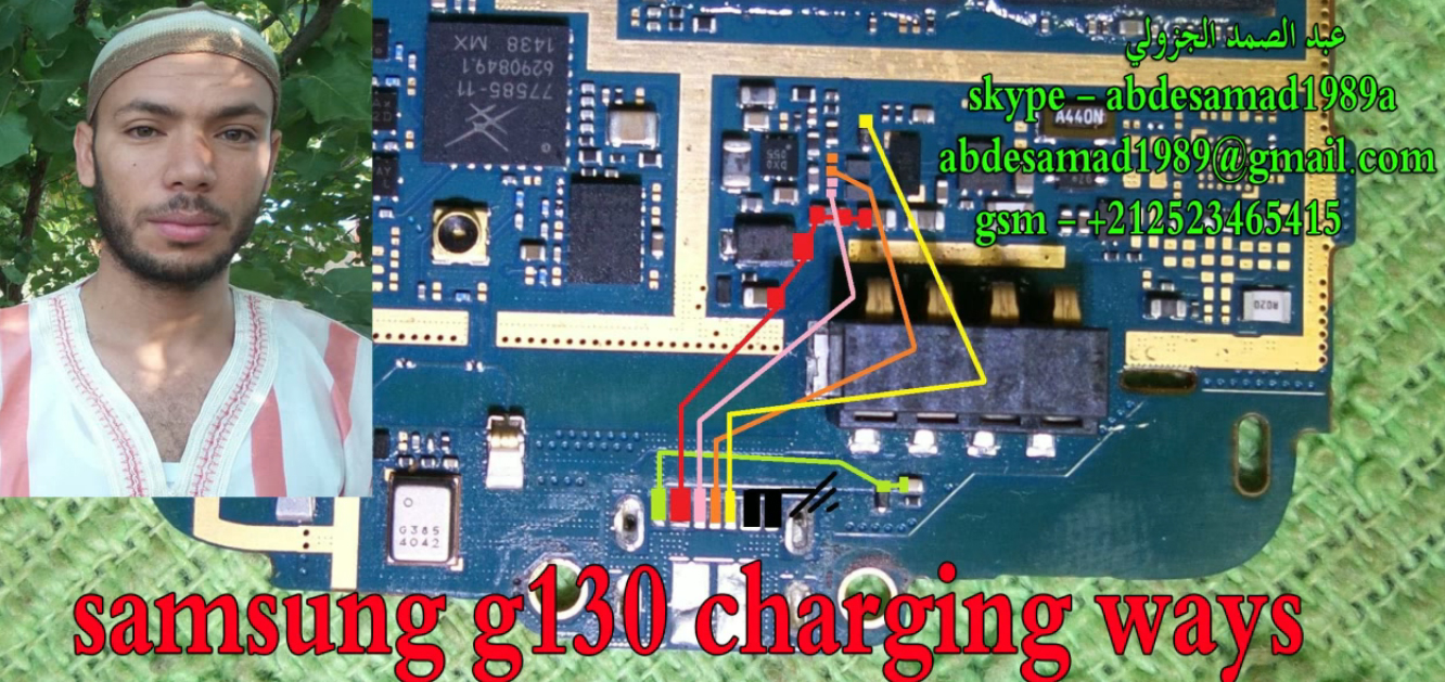 Samsung Galaxy Young 2 G130 Charging Solution Jumper Problem Ways