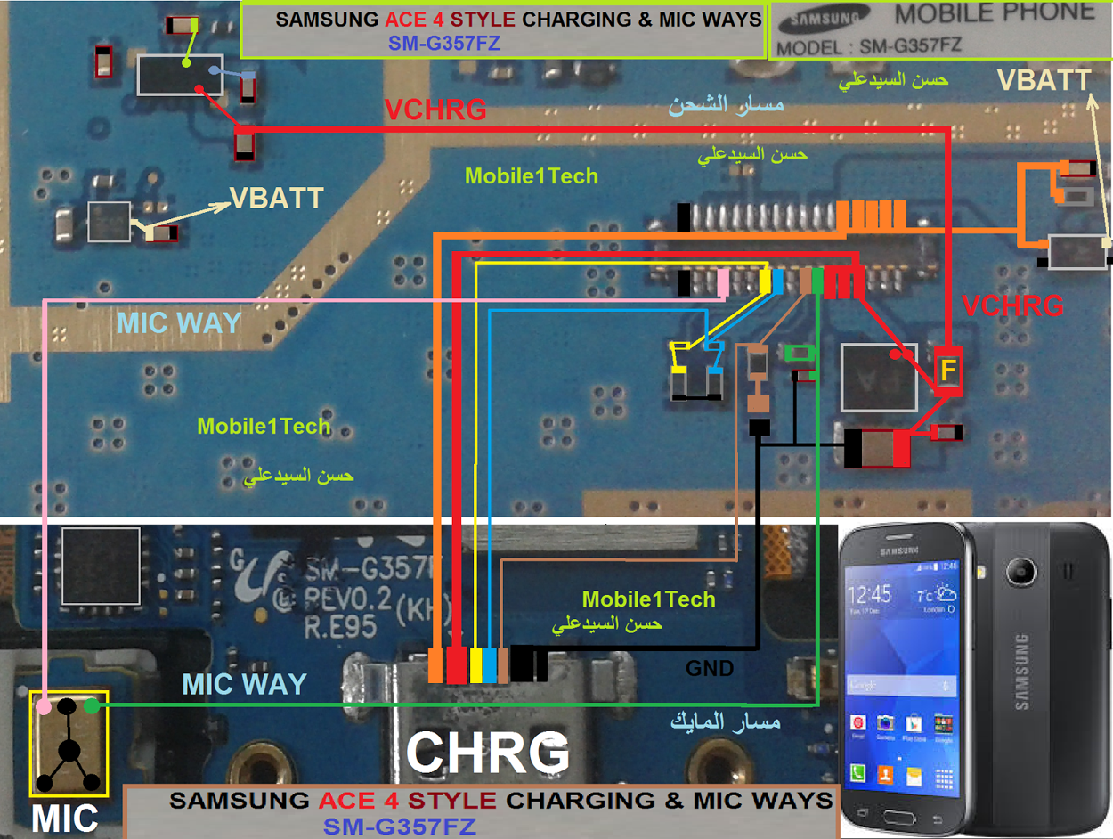 Samsung Galaxy Ace Style LTE G357 Mic Problem Jumper Solution Ways Microphone Not Working