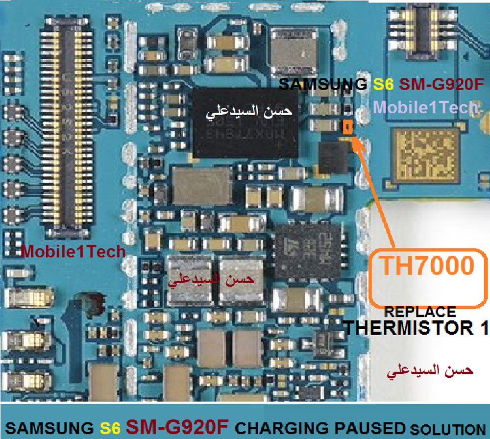 Samsung Galaxy S6 Charging Paused Solution Jumpers