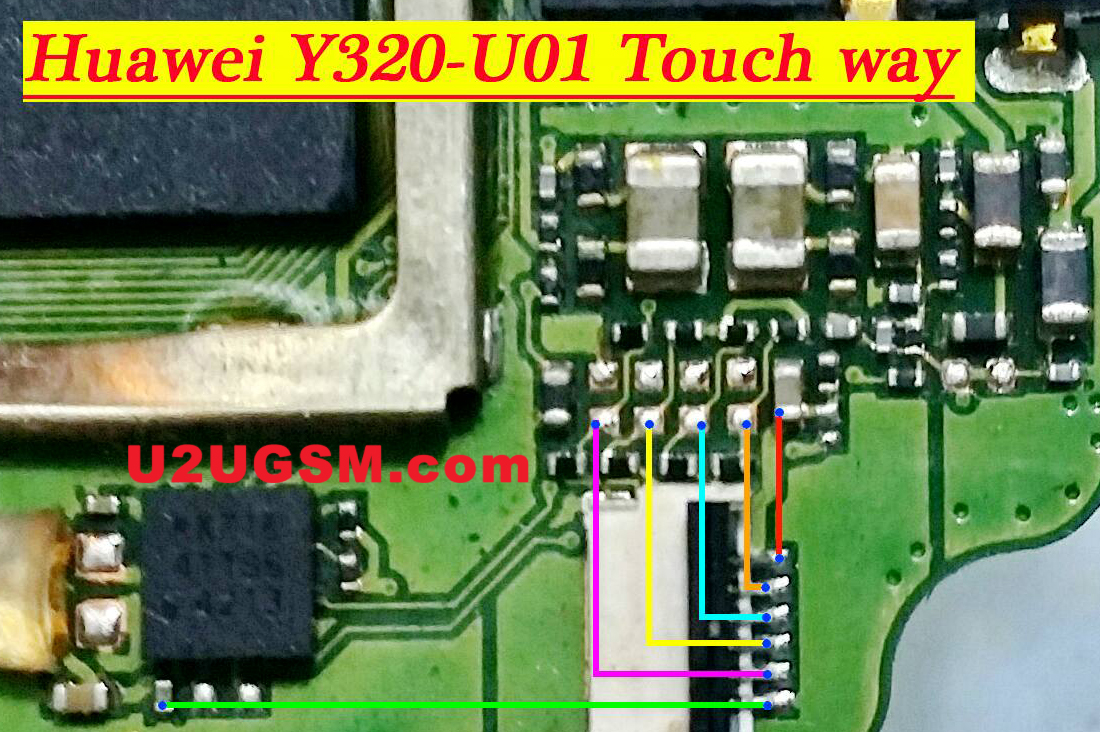 Huawei Ascend Y320 Touch Screen Not Working Problem