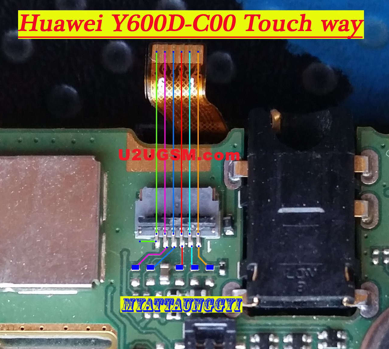 Huawei Ascend Y600 Touch Screen Not Working Problem