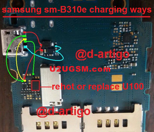 Samsung B310 Charging Problem Solution Jumper Ways