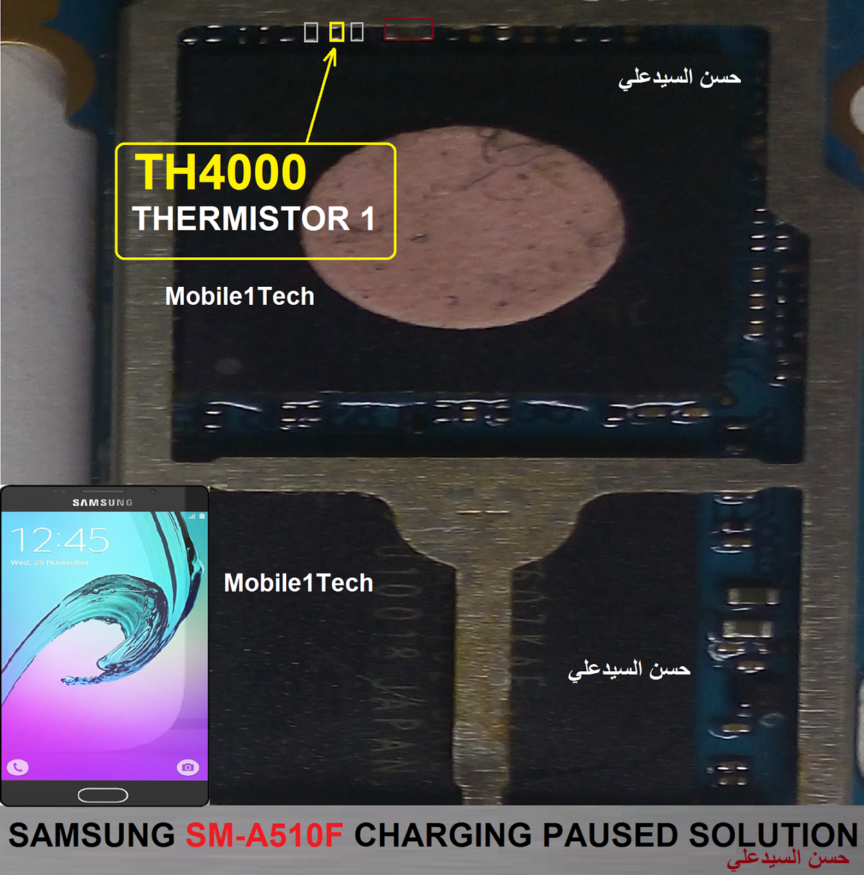 Samsung Galaxy A5 (2016) Charging Paused Solution Jumpers