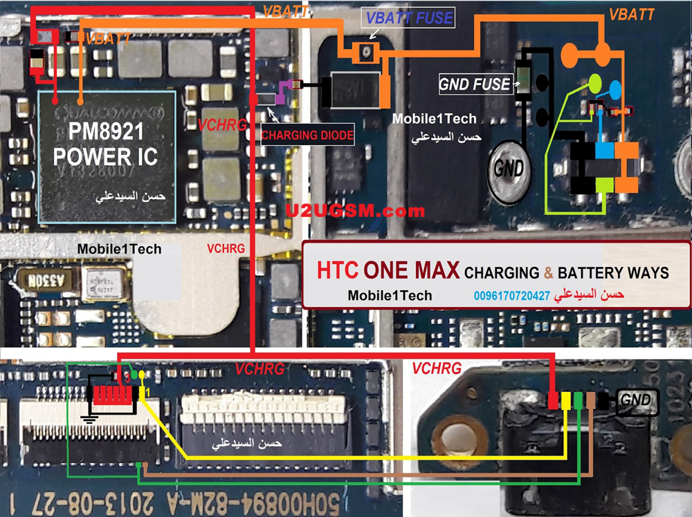 Htc One Max Charging Problem Solution Jumper Ways