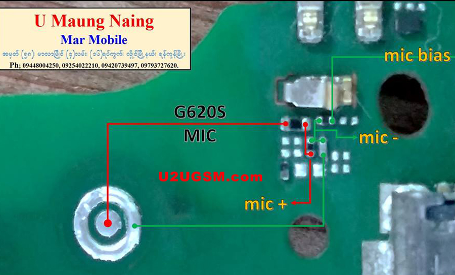 Huawei Ascend G620s Mic Problem Solution Microphone Not Working