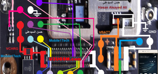 Huawei P9 Battery Connector Terminal Jumper Ways