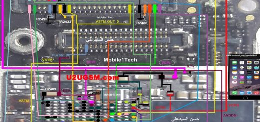 iPhone 6 Plus touch screen not working problem solution jumpers