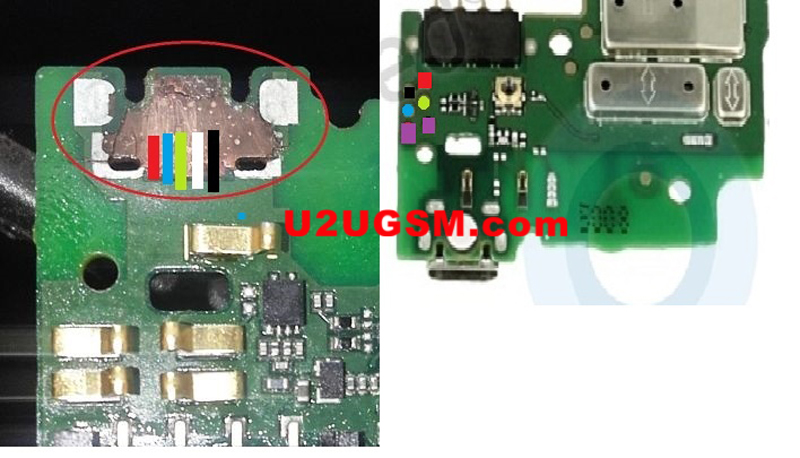Huawei Ascend Y550 Charging Paused Solution Jumpers
